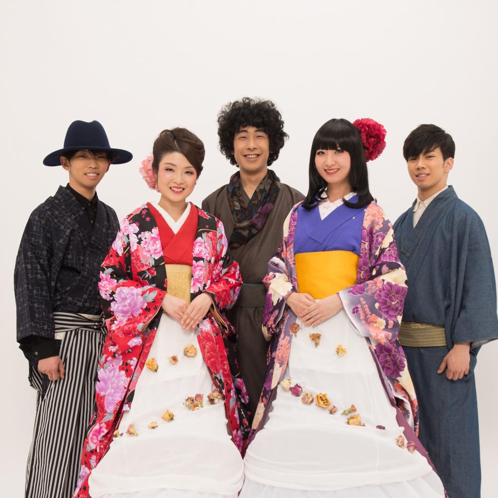 輝&輝バンド 津軽三味線×洋楽器バンド