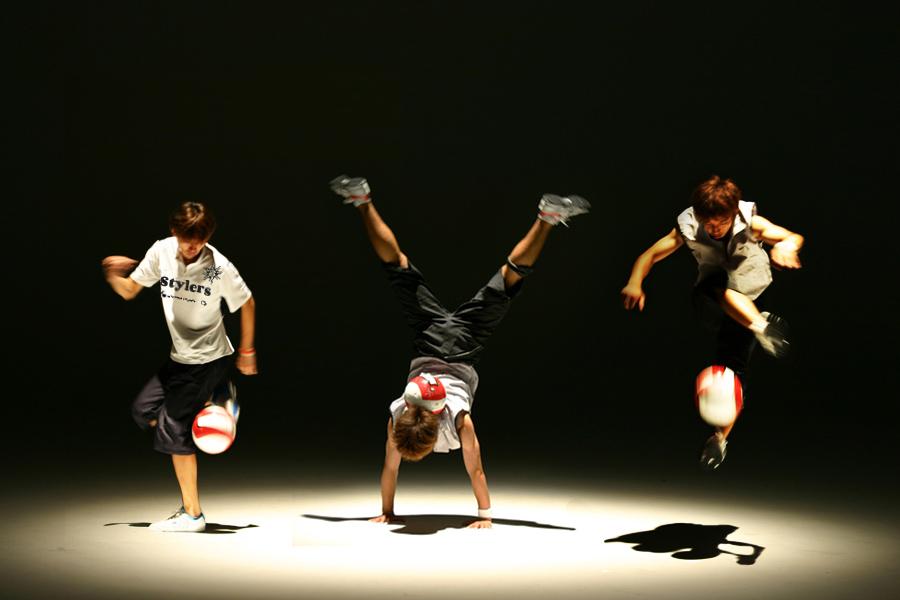 フリースタイルフットボールStylers(スタイラーズ)