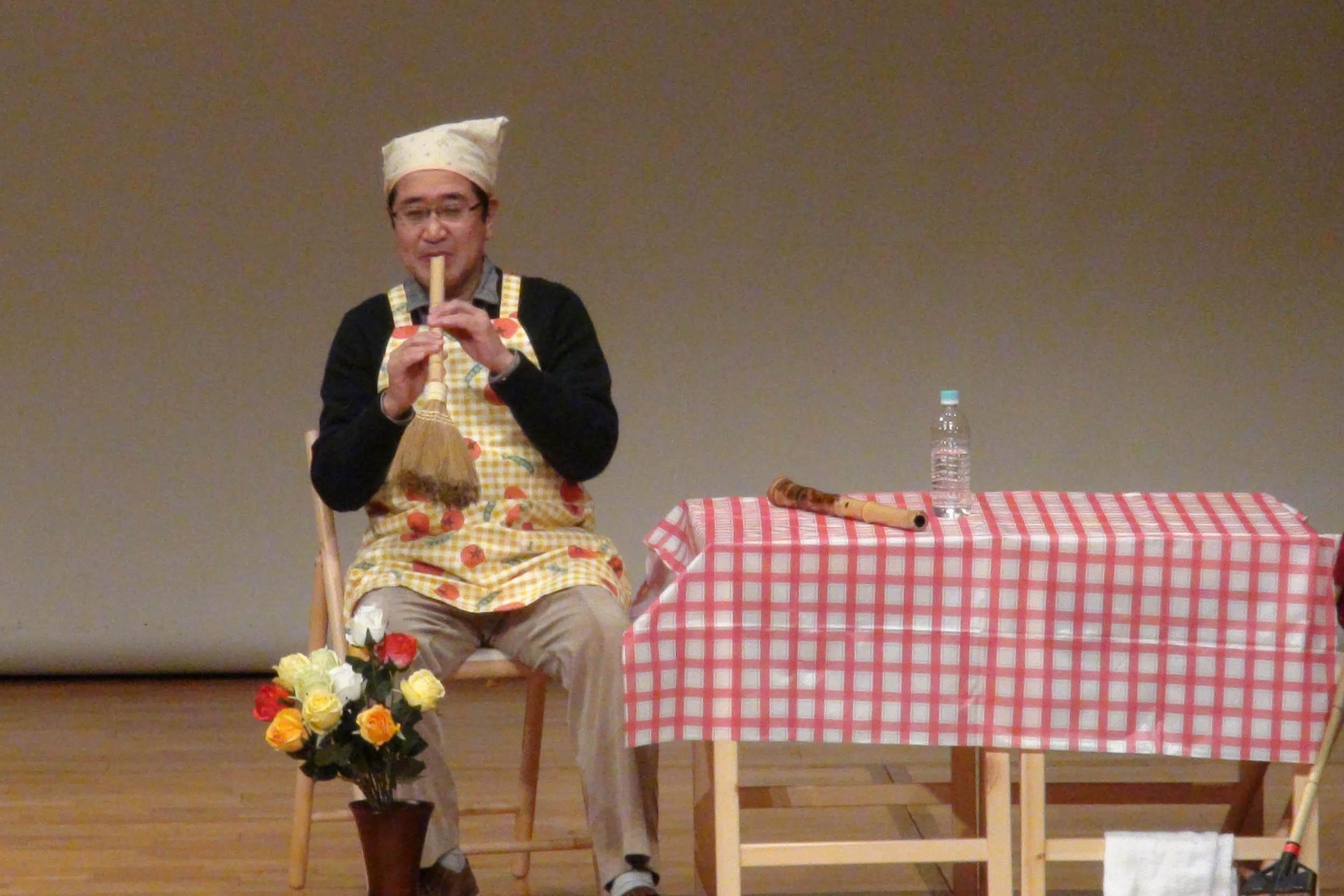 伝統楽器・面白体験ワールド!~日本の伝統楽器の爆笑ライブ~