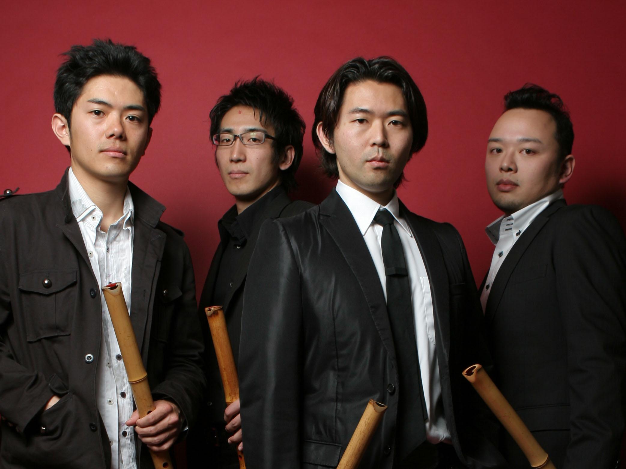 破竹-HACHIKU-尺八四重奏団