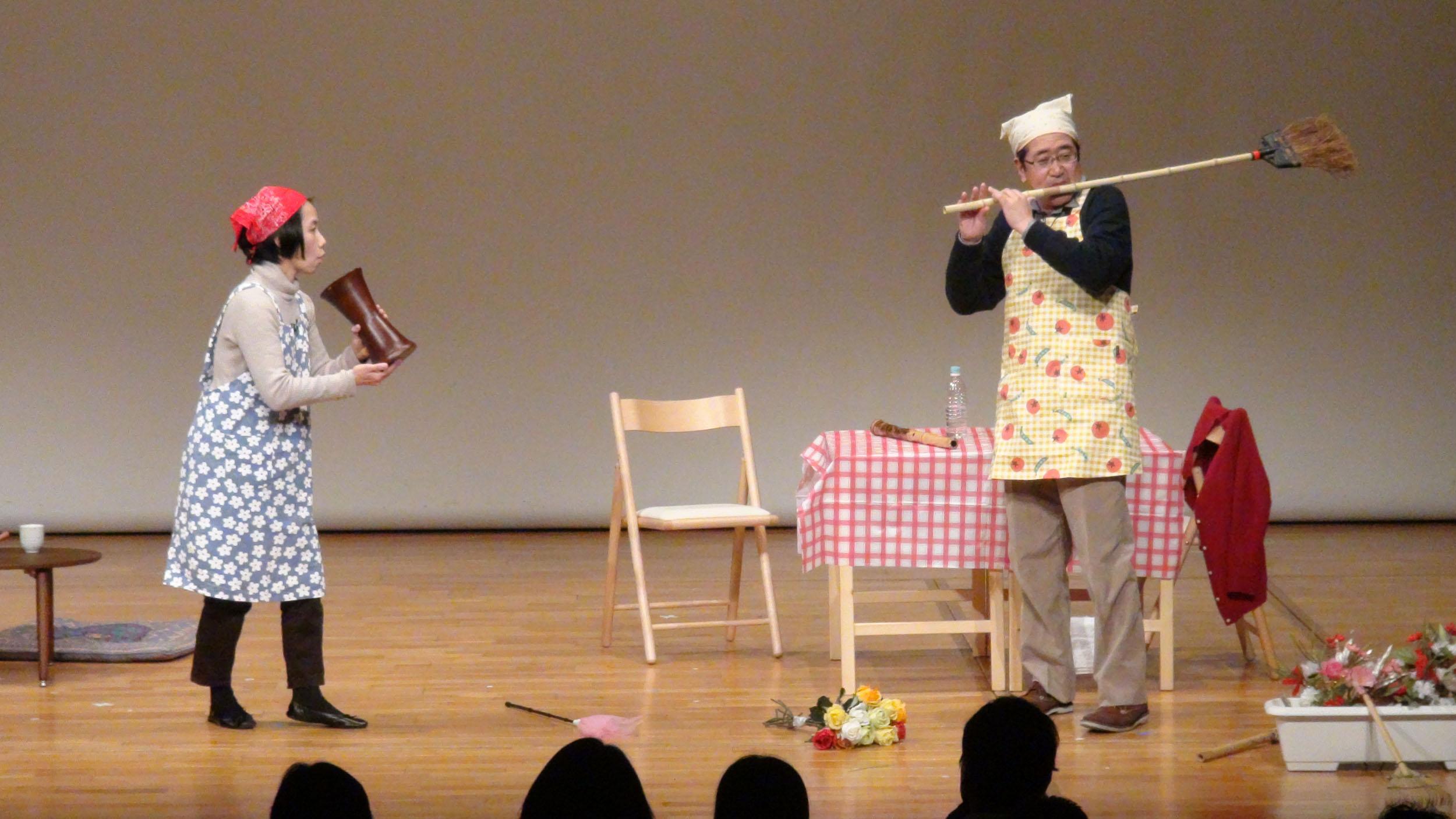 伝統芸能・面白ワールド!~日本の伝統楽器の爆笑ライブ~