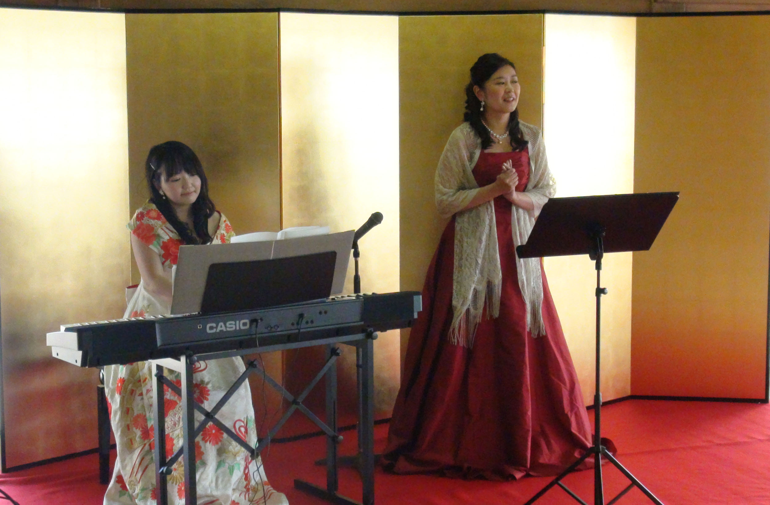 Rosaソプラノ&ピアノ