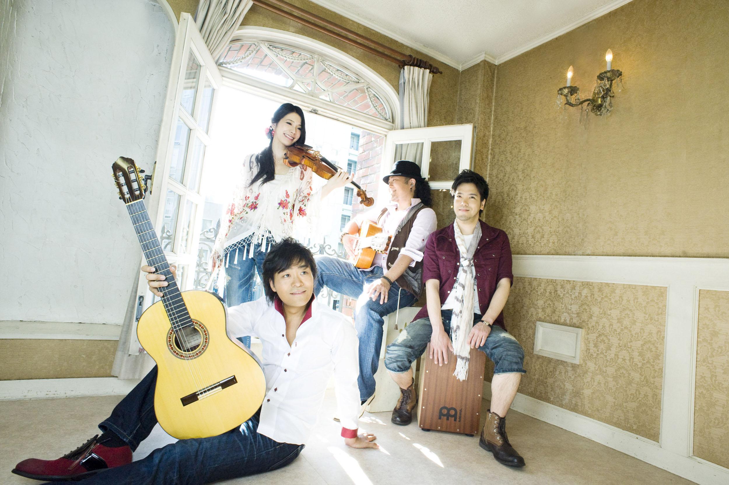 Soluz(ソルス)フラメンコギター×ヴァイオリン×パーカッション