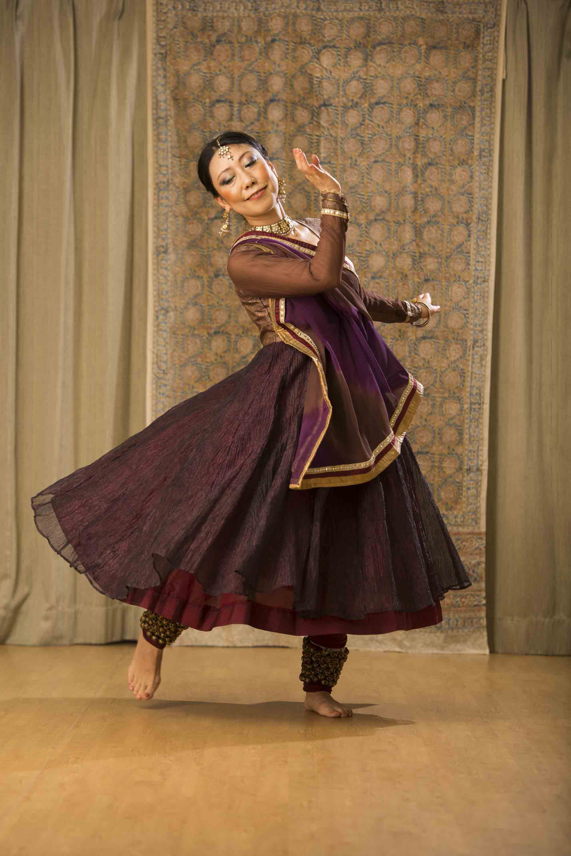 ユキ インド古典舞踊・カタックダンス