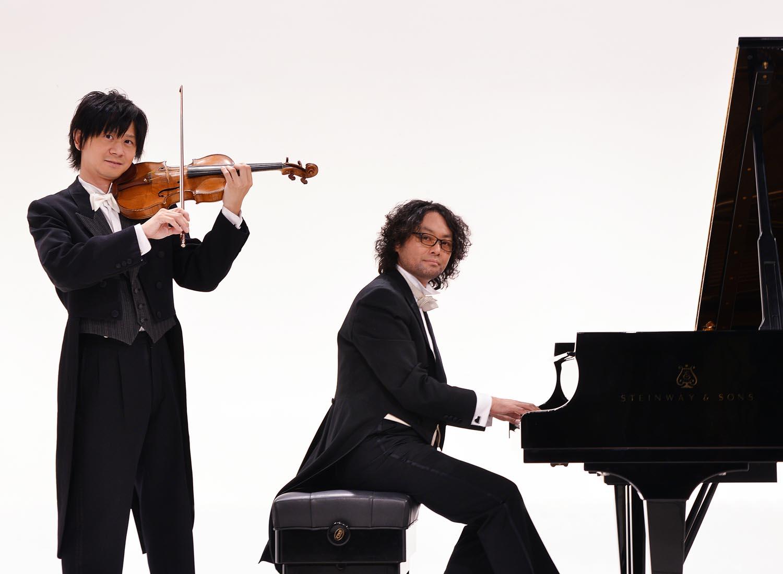 スギテツ ヴァイオリン×ピアノ クラシックを遊ぶ音楽実験室