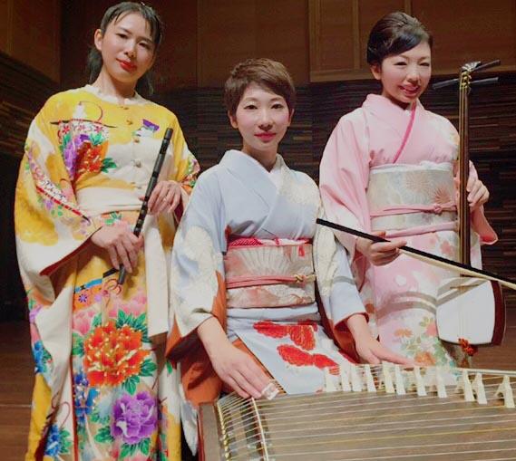 雪月花 箏・笛・胡弓の和楽器女性ユニット
