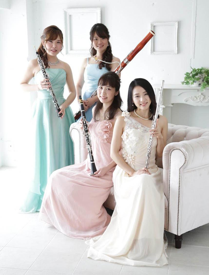 もっかる-mocqual 木管四重奏女性ユニット