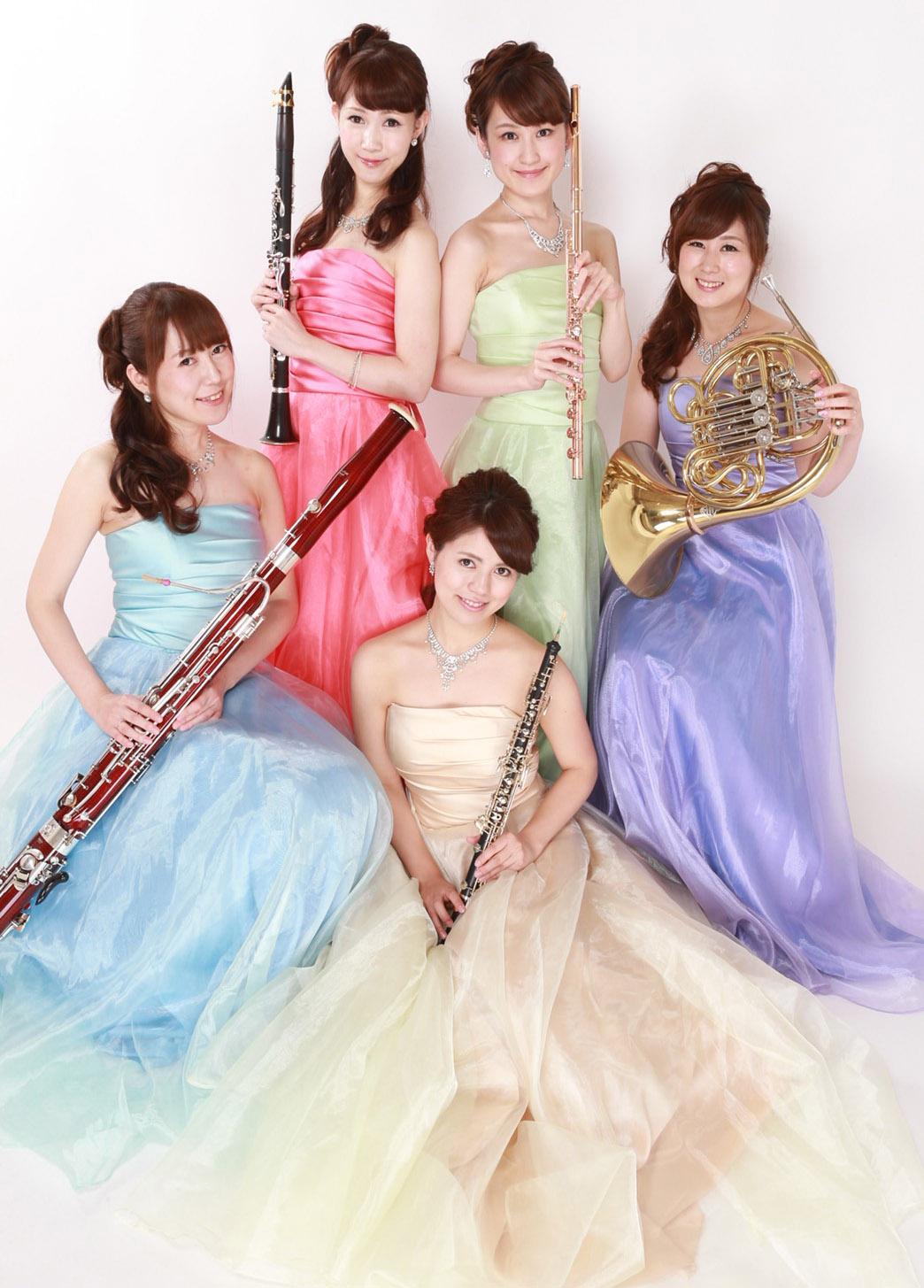 Colorful(カラフル) 木管五重奏女性ユニット