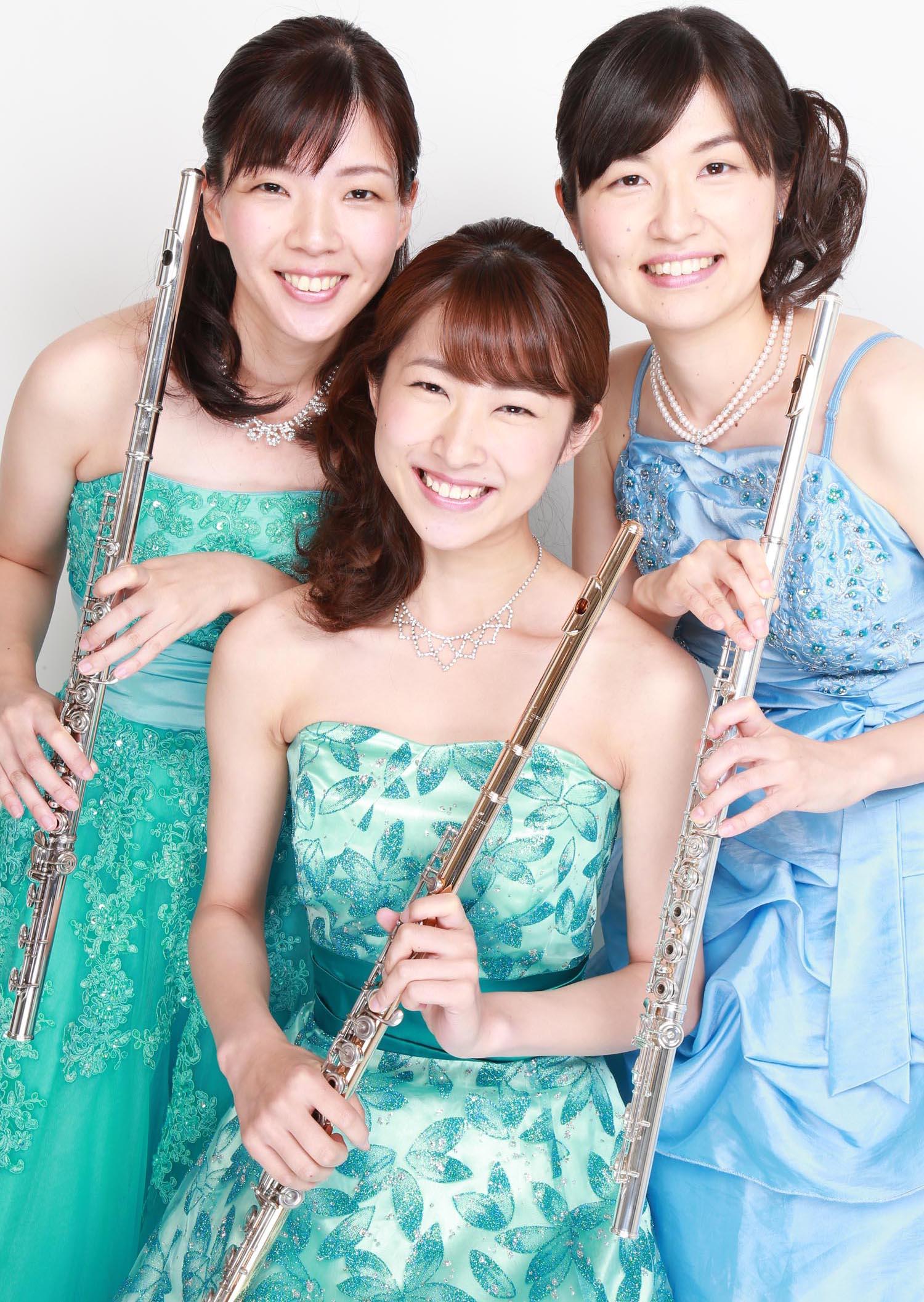 Flute Trio Fioritura 華やかなフルートトリオ