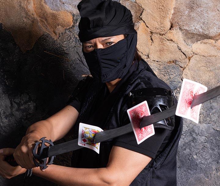忍者マジック写真1