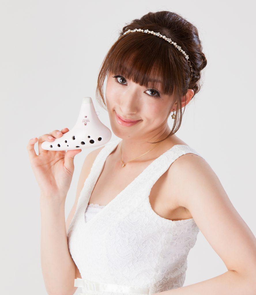 西村菜美オカリナ写真1