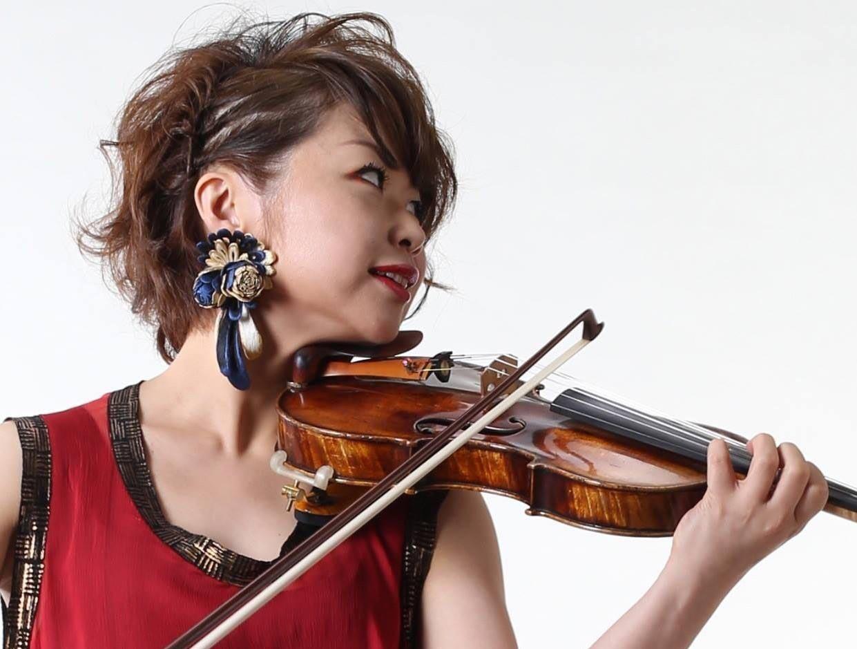 入山ひとみ ヴァイオリン