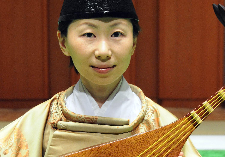 中村かほる 楽琵琶