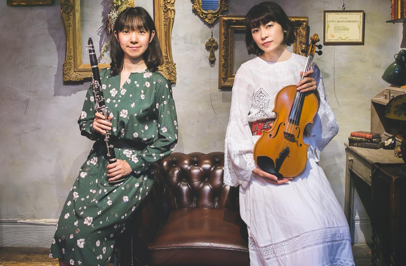 Viorinet(ヴィオリネット) クラリネット&ヴィオラ デュオ