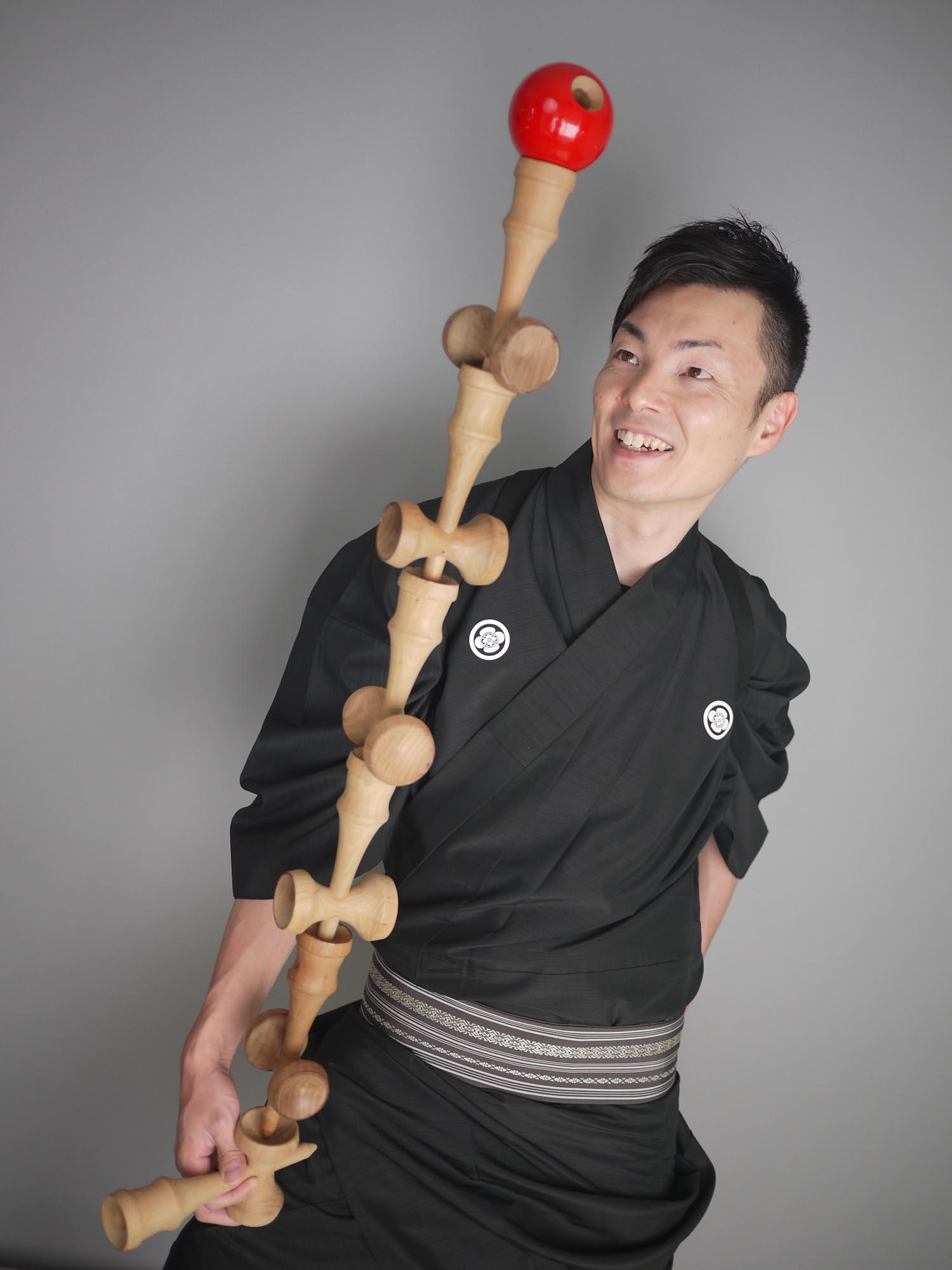 けん玉スーパーパフォーマンス 伊藤佑介