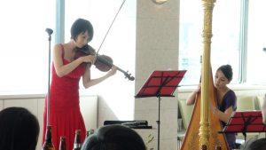 ハープ&ヴァイオリン3